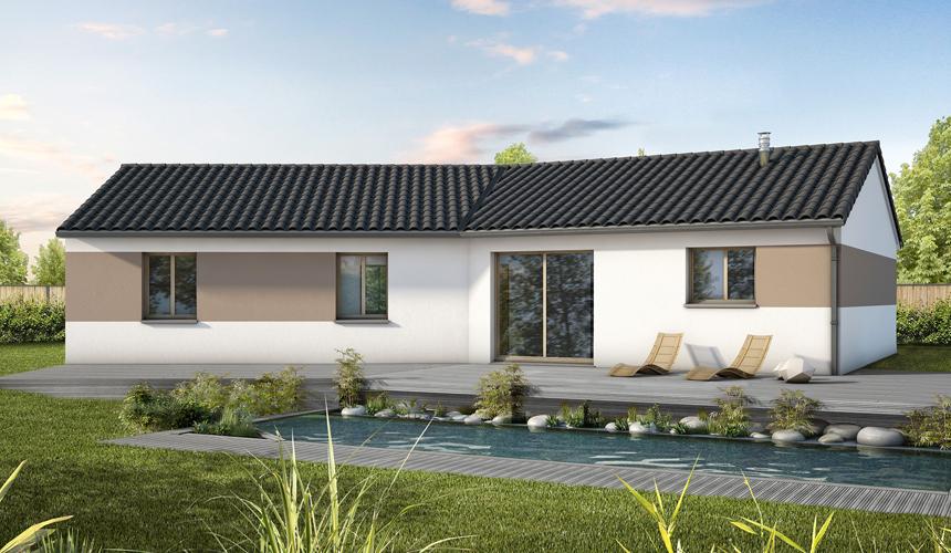 Terrain et maison neuve top maison neuve limoges with for Maison neuve avec terrain