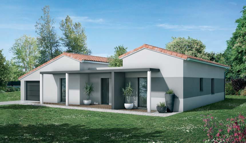 Maison Neuve Toulouse   Villas Et Maisons De France