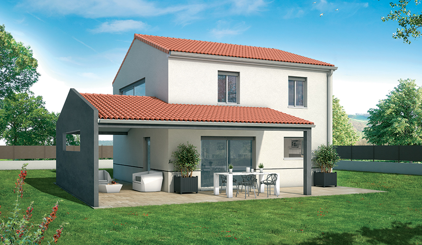 Free mrignac with maison vesta for Modele maison vesta