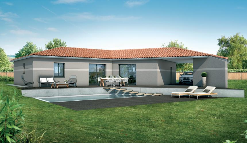 Constructeur maison neuve pechbusque 31320 for Budget construction maison neuve